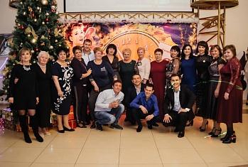 Новогодний корпоратив в Тимашевске